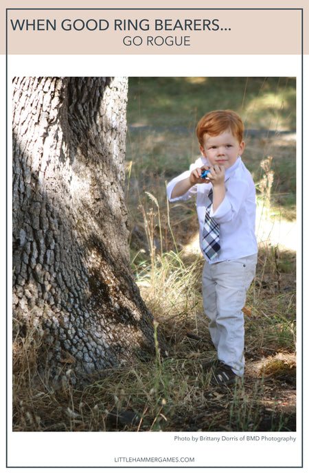When good ring bearers go rogue...