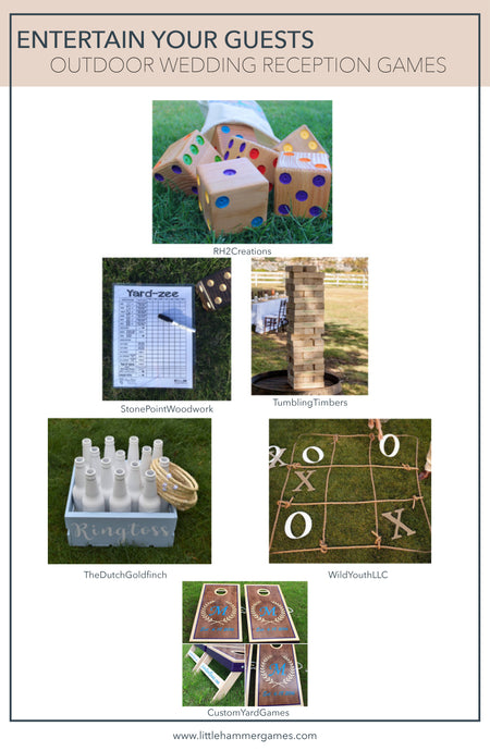 Entertain Your Guests With These Outdoor Wedding Reception Games