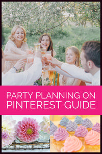 Party Planning: How to plan a party (or a wedding!) using Pinterest