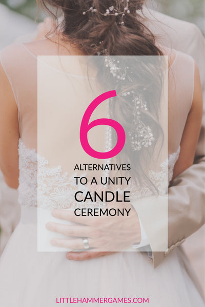 6 alternatives to a unity candle ceremony