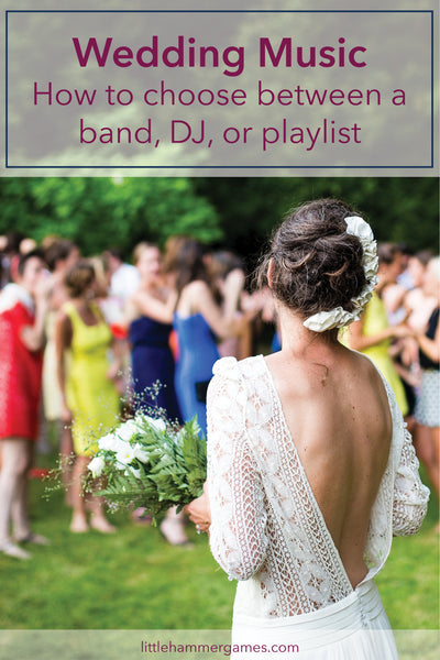 Wedding Music: How to choose between a band, DJ, or playlist