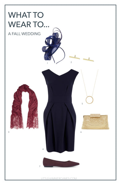 Fall Wedding Outfit
