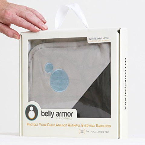 Anti-Radiation Protective Belly Blanket