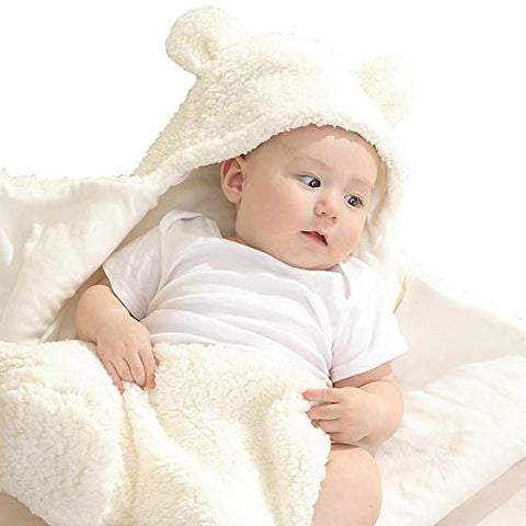 Plush Bear Swaddle Blanket