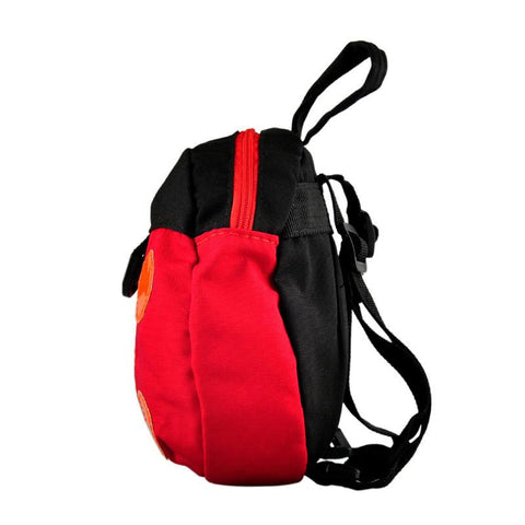Side of Toddler Backpack With Safety Harness