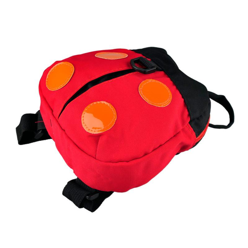Ladybug Toddler Backpack With Safety Harness