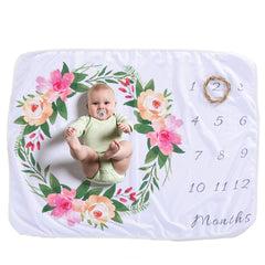 Image of Baby Blanket Monthly Photography Props
