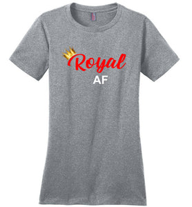 Royal AF Tee T-Shirts - Royally Curved