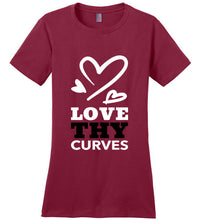 Love Thy Curves Tee T-Shirts - Royally Curved
