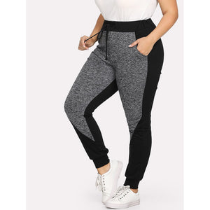 Color Block Jogger Pants Pants - Royally Curved