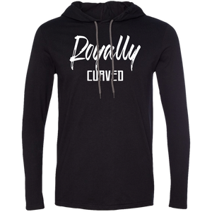 Royally Curved Long Sleeve Hooded T-Shirt T-Shirts - Royally Curved