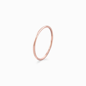 Simplicity Ring (Gold) - AAYSE