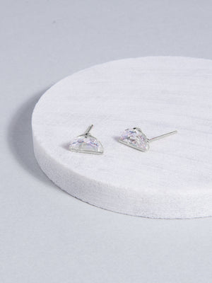 Demi Stud Earrings (Silver)