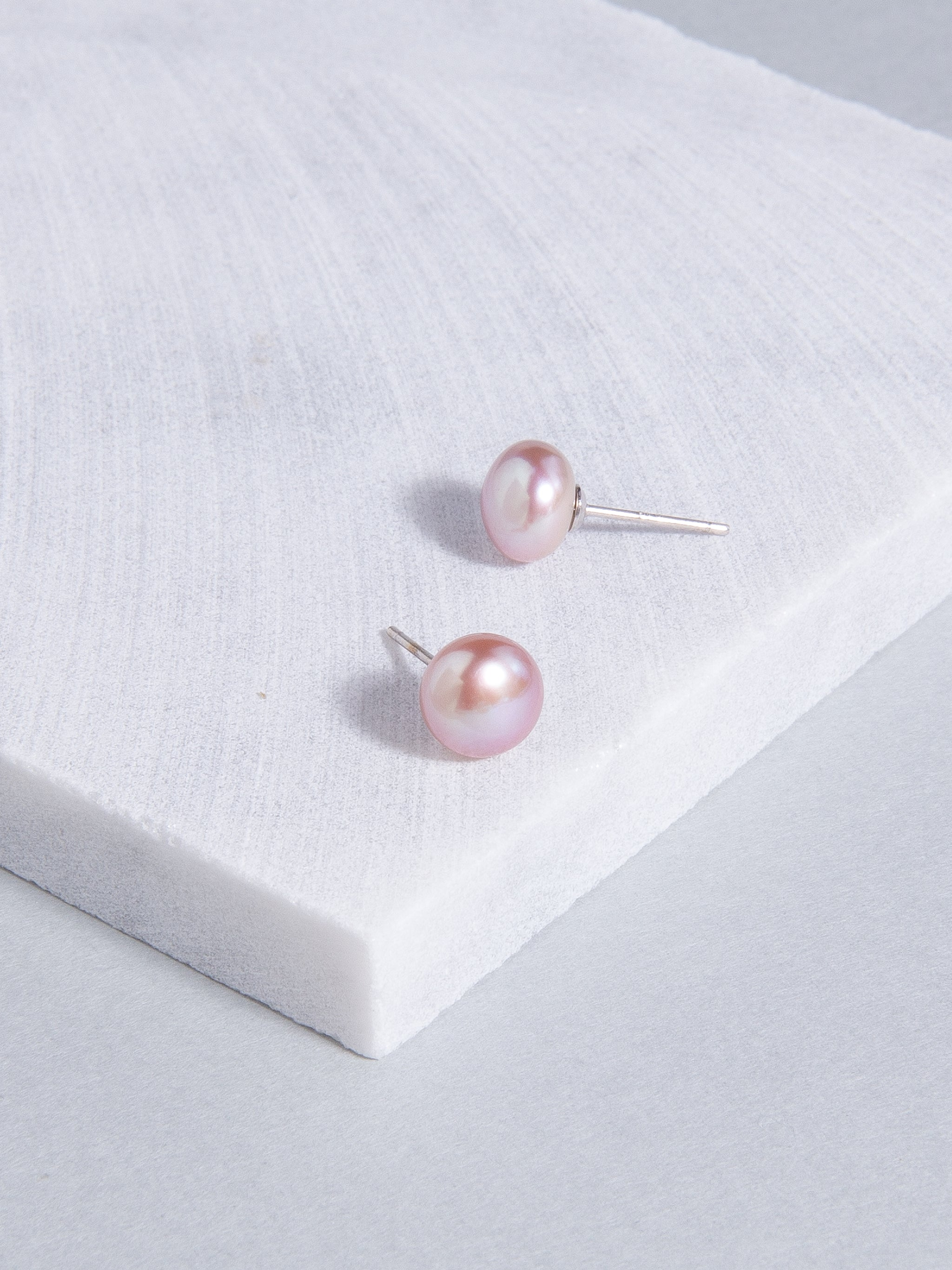pink pearl links of stud earrings and earring london amp silver hires en gb sterling