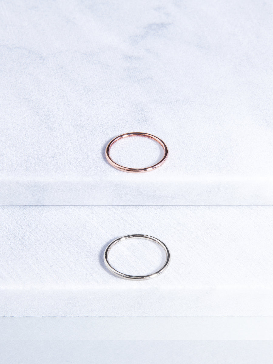 Simplicity Knuckle Ring (Rose Gold)