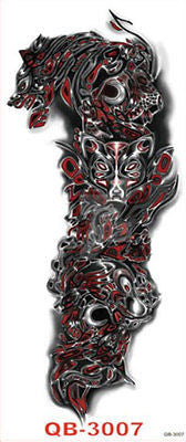 Einmal-Tattoo  Temporary Tattoo wasserdicht 450*160mm Neu Sleeve tat10 - Olivia`s Design