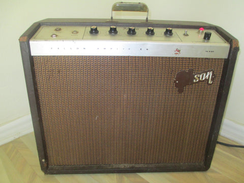 Early Mid 1960s '60s Gibson Falcon GA-19RVT. All-Tube 15-watt Amplifier 1X12. Vintage vibe.