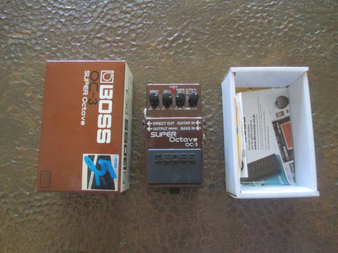 BOSS OC-3 Super Octave Pedal. FLAWLESS Condition.
