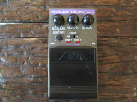 Aria AD10 AD-10 Early 1980s '80s Analog Delay. Lush and Spacey. Made in Japan.