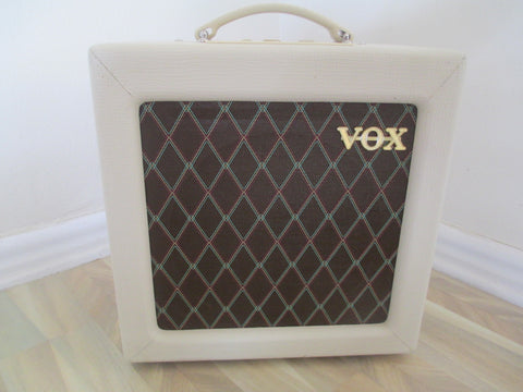 Vox AC4TV 4-watt All-Tube Amp. Mini Chime Machine.