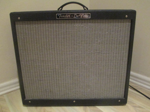 2008 '08 Fender Hot Rod DeVille 2X12 All-Tube 60-Watt Amp. Killer Fender Tone.