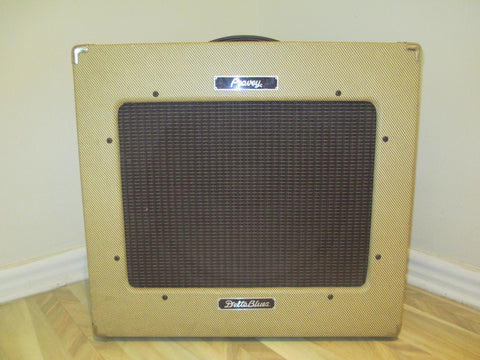 2002 '02 Peavey Delta Blues 30-Watt, All-Tube 1X15 Amp. Tweed with Reverb, Tremolo and Foot Switch.