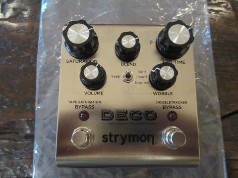 Strymon Deco Tape Saturation & Double Tracker Pedal. As New, Mint Condition.
