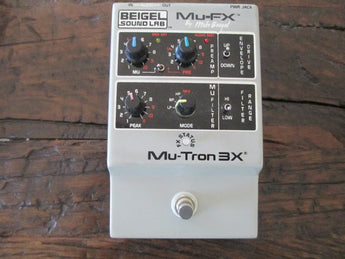 Mu-Tron Tru-Tron 3X by Mu-FX. Super rare. Signed by Mu-Tron Founder Mike Beigel.
