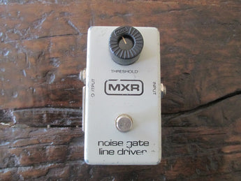 1978 '78 MXR Noise Gate Line Driver. Block Logo. Great Condition.