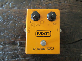 1978 '78 MXR Phase 100 Block Logo. Authentic Vintage Shimmer!