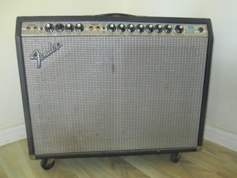 1977 Fender Twin Reverb Silverface. Enough Said.
