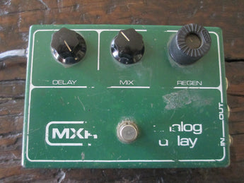 1979 '79 MXR Analog Delay. Green Monster! Vintage Echoes.