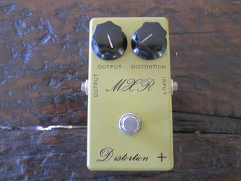 Rare '76 1976 MXR Distortion + (Plus) Script Logo. One of a kind vintage tone!