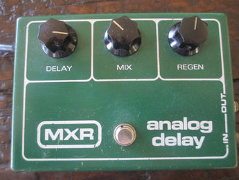 1977 '77 MXR Analog Delay. Rare Green Monster of Delays.