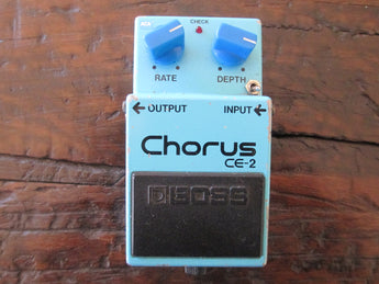 Killer '82 1982 Vintage Boss CE-2 Chorus Pedal. Made in Japan!