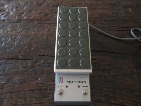 1970s '70s Rare Mu-Tron Mutron C-200 C200 Volume Wah Pedal. The best.