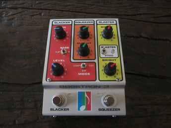 Amazing Mu-FX Boostron 3. Three-in-one pedal. Brand new.