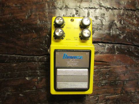 1981 '81 Ibanez Flanger FL-9. Black Label. Made in Japan!