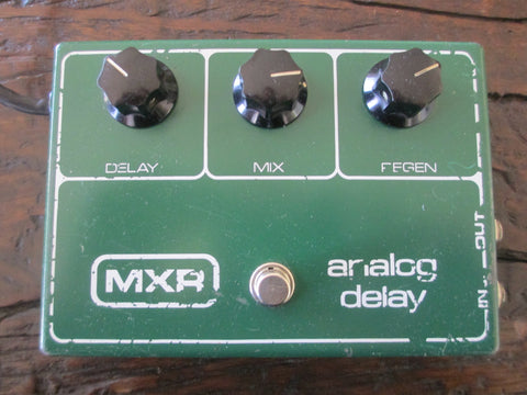 '78 1978 Vintage MXR Analog Delay. Warm echoes and repeats!