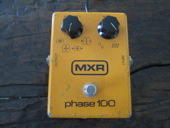1979 '79 Vintage MXR Phase 100. With 9V adapter plug!