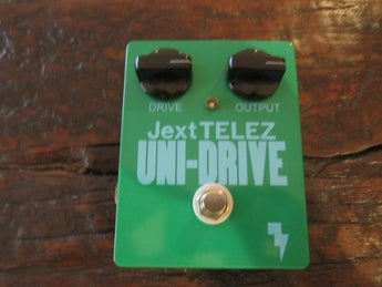 Brand New Jext Telez Uni-Drive Limited Edition Green Saucer. Jimmy Page tone!