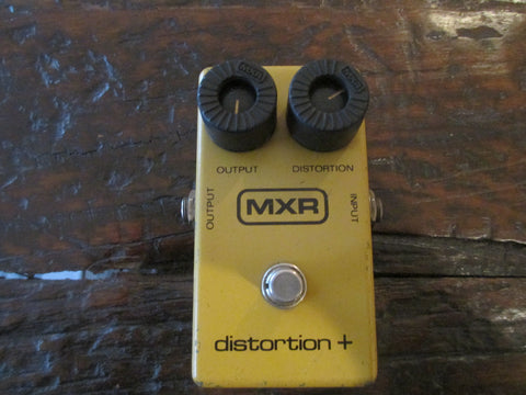 1979 '79 Vintage MXR Distortion Plus + Overdrive Distortion with 9V jack