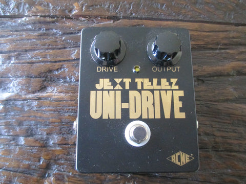 Near Mint Jext Telez Uni-Drive Distortion Overdrive. Cool Vintage Tone.