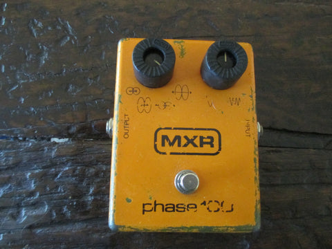 1979 '79 Vintage MXR Phase 100. Buttery, Shimmering Phase
