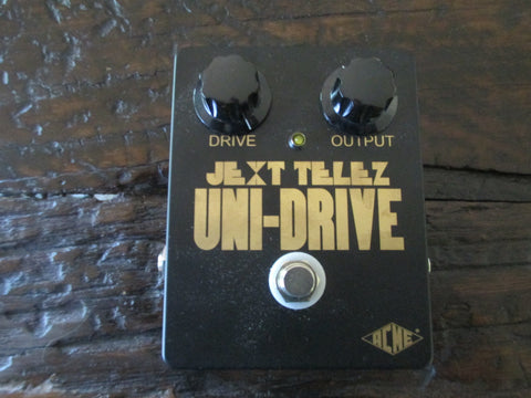 Brand New Jext Telex Uni-Drive Overdrive Distortion Pedal