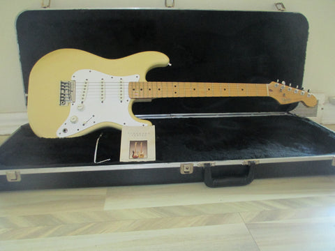 Vintage 1983 '83 Dan Smith Era Fender USA Two Knob Standard Strat Stratocaster