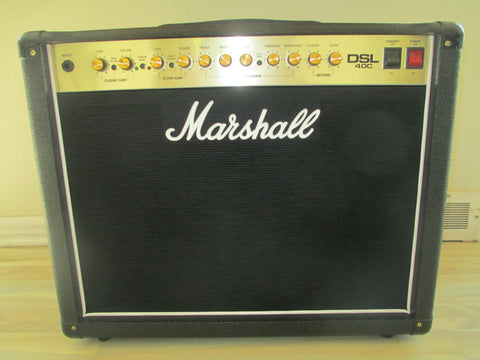 Dead Mint Nearly New Marshall DSL40C 112 Tube Combo Amp