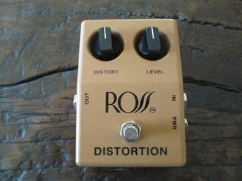 Vintage 1970s '70s Ross Distortion Overdrive Pedal. Practically Flawless!