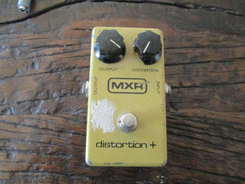 1980 '80 Vintage MXR Distortion Plus Overdrive Pedal