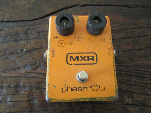 Vintage '78 1978 MXR Phase 100. Shimmery, Buttery Phaser Tones!